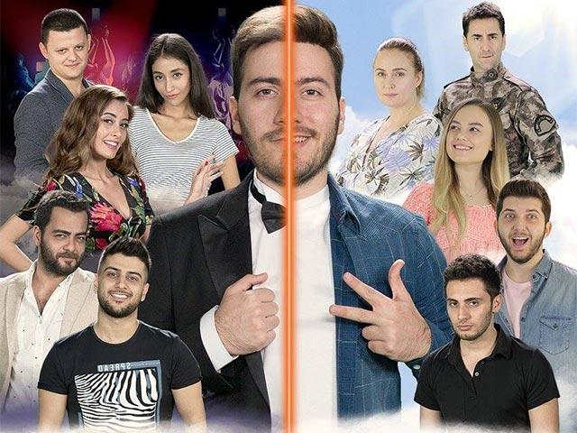 Enes Batur Hayal Mi Gerçek Mi? Oyuncuları