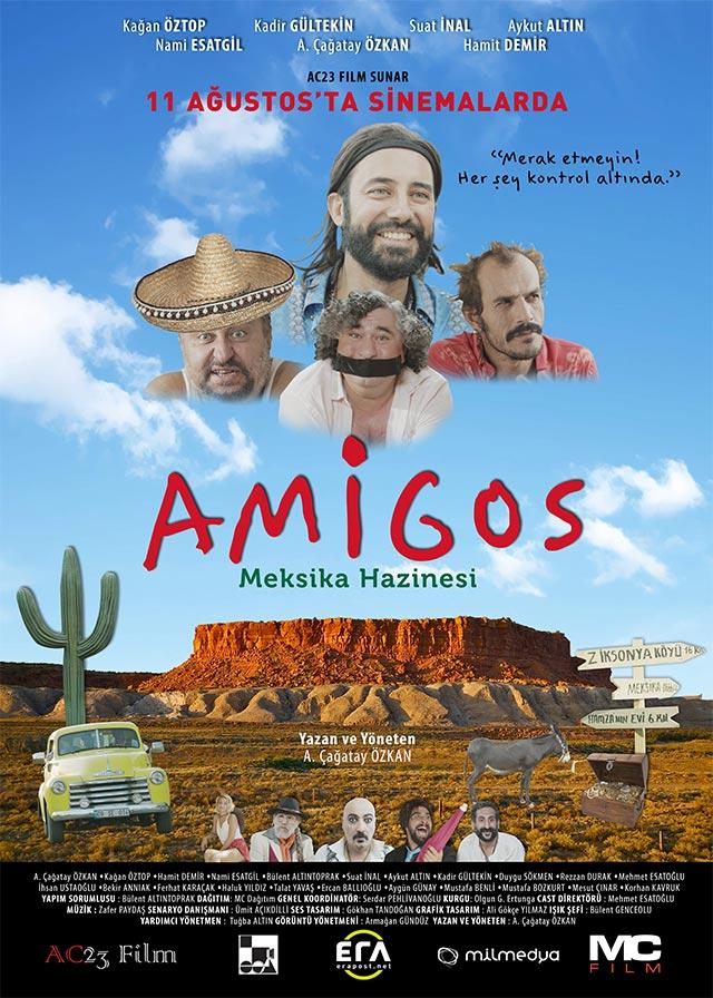 Amigos Meksika Hazinesi Afişi, Afişleri, Afiş ve Poster Resimleri-1